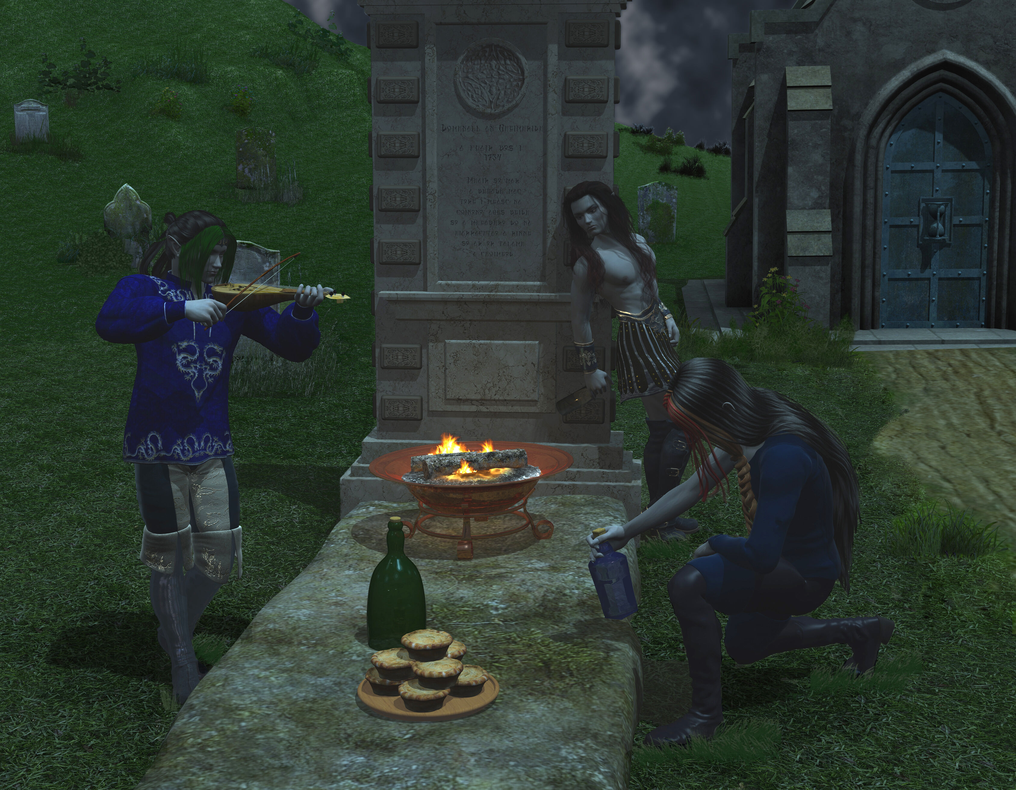 November: Domhnall's Grave