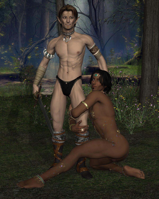 Elfy Barbarian Lulz [Image]